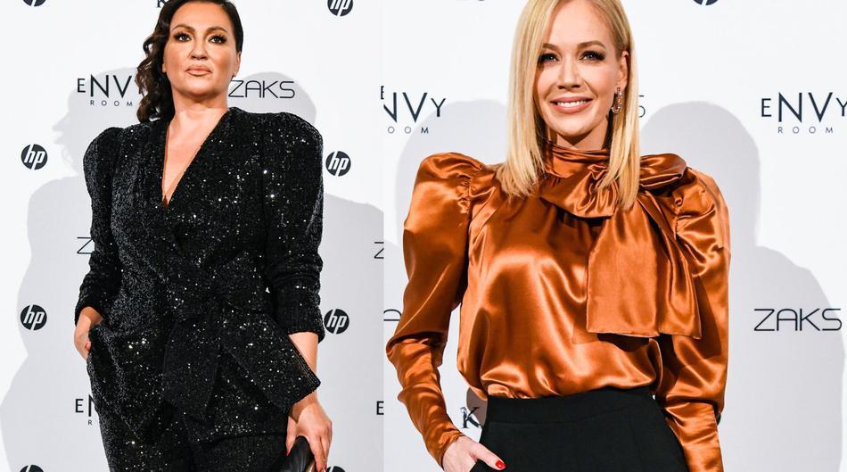 Nina Badrić i Jelena Rozga odjenule su crne hlače za svečanost - i definitivno nisu pogriješile