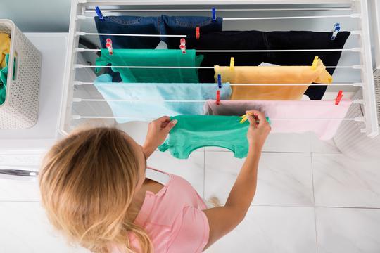 Slikovni rezultat za Sušenje rublja u kući može ti ugroziti zdravlje!