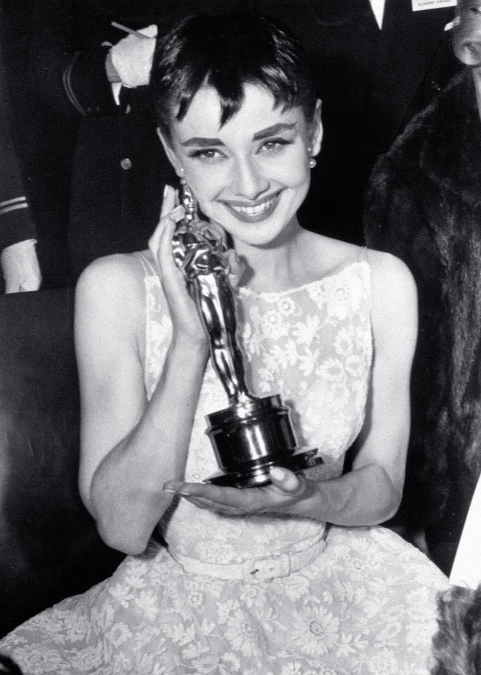 Audrey Hepburn, dodjela Oscara | Autor: Cinema Legacy Collection/The Hollywood Archive/PIXSELL