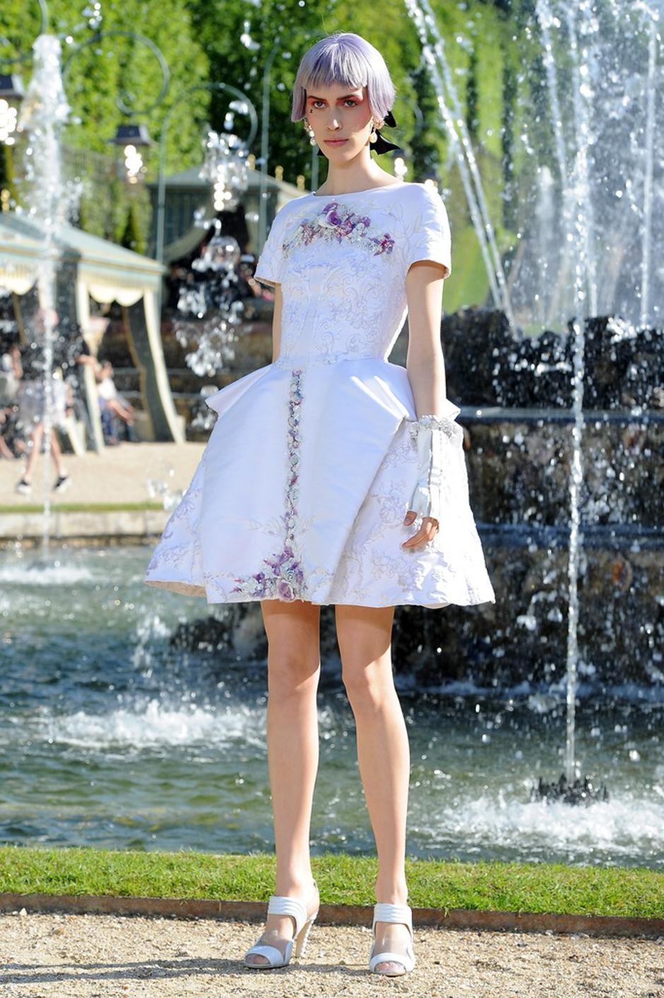Chanel revija u vrtovima dvorca Versailles